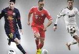 UEFA paskelbė 40 kandidatų pretenduojančius patekti į metų komandą