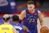 """B.Griffinas tikisi su """"Nets"""" laimėti čempionatą"""