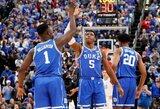 """P.Pierce'as: """"Cavaliers"""" pralaimėtų Duke'o universiteto komandai"""""""