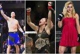 """""""UFC 222"""" pristatymas ir prognozės: aukščiausio UFC kovotojo pasirodymas ir Lietuvoje pergales skynusios rusės iššūkis C.Cyborg"""