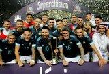 L.Messi įvartis padovanojo Argentinos rinktinei pergalę prieš Braziliją