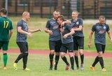 Dvi sostinės ekipos Lietuvos mažojo futbolo čempionate išlaikė įspūdingą tempą