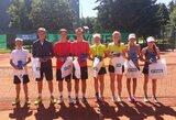 Jauniesiems Lietuvos tenisininkams iki pergalės Šiauliuose pristigo žingsnio (komentaras)