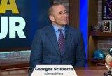 Traumą patyręs G.St-Pierre'as abejoja dėl savo ateities UFC