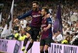 """J.Mourinho favoritas Čempionų lygoje – L.Messi: """"Jis visuomet yra ypatingas"""""""