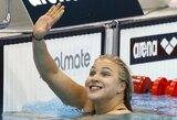 Barselonoje – antrasis R.Meilutytės aukso medalis!