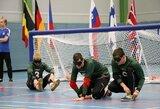Lietuvos golbolo rinktinė pasaulio čempionate patyrė pirmą pralaimėjimą