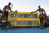 Istorinį pasaulio lengvosios atletikos estafečių čempionatą vainikavo dar vienas planetos rekordas