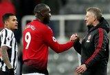 """R.Lukaku atskleidė, ką pasakė į """"Man United"""" klubą atvykęs O.G.Solskjaeras: """"Tai buvo lyg muzika mano ausims"""""""