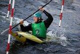M.Atmanavičius atkaklioje kovoje tapo atvirojo Lietuvos baidarių slalomo čempionato nugalėtoju