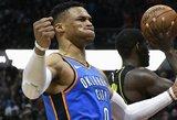 """NBA komandų atstovų pasiūlymas """"Thunder"""": išmainyti R.Westbrooką"""