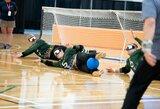 Lietuvos golbolo rinktinė paskutinėmis minutėmis prarado pirmą vietą grupėje