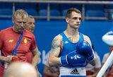 E.Skurdelis po įtemptos kovos pralaimėjo Europos bokso vicečempionui