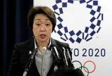 """Tokijo olimpinių žaidynių ministrė: """"Olimpiada įvyks bet kokia kaina"""""""