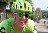 """Dviratininkas R.Navardauskas penktą kartą dalyvaus """"Tour de France"""" lenktynėse"""