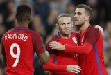 J.Defoe tiki, jog W.Rooney sugrįžimas į rinktinę atsisveikinimo rungtynėms padės įkvėpti jaunuosius Anglijos žaidėjus