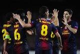 """""""Barcelona"""" paskutinę sekundę sugriovė škotų """"sieną"""""""