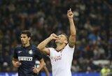 """Įspūdingai rungtyniaujanti """"Roma"""" nesunkiai susitvarkė ir su """"Inter"""" klubu"""