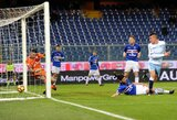 """T.Krapiko atstovaujamas """"Sampdoria"""" nusileido """"Lazio"""" klubui"""
