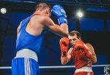 Lietuvos bokso čempionate – įspūdinga pergalių serija ir sensacija