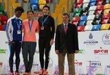 L.Grinčikaitė triumfavo lengvaatlečių varžybose Turkijoje, R.Stanys – trečias