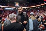"""Toronte plojimais pasitiktas J.Valančiūnas išvydo """"Raptors"""" pralaimėjimą"""