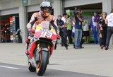 Rekordo siekiantis M.Marquezas pirmas pradės Indianapolio GP lenktynes