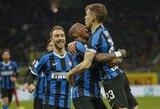 """""""Inter"""" iškopė į Italijos taurės pusfinalį, jų gretose debiutavo Ch.Eriksenas"""