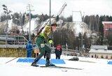 Pasaulio biatlono taurės estafetėje – puikus Lietuvos rinktinės startas ir L.Banio problemos
