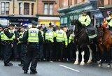 """""""Celtic"""" sirgalius nubaustas: už smūgius policijos arkliams – 10 mėnesių kalėjimo"""