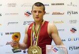 Trys lietuviai tapo XVII A. Šociko vardo tarptautinio bokso turnyro nugalėtojais