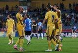 Ukrainos rinktinė draugiškose rungtynėse sutriuškino Estiją