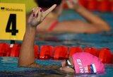 J.Jefimova Glazge iškovojo antrąjį aukso medalį
