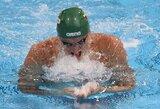 G.Titenis pirmą pasaulio plaukimo čempionato dieną užėmė 12-ą vietą (papildyta)