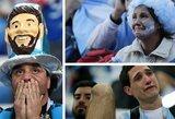 """Argentinos sirgaliai palūžę: """"Su """"Barcelona"""" jis iškovoja vieną trofėjų po kito, o mums L.Messi davė tik pralaimėjimus ir liūdesį"""""""