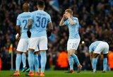 "Anglijos ""Premier"" lyga: ""Manchester City"" neįveikė ""Huddersfield"""