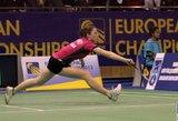 V.Fomkinaitė tarptautiniame jaunių badmintono turnyre Lenkijoje liko be pergalių