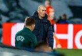 """Savimi neabejojantis Z.Zidane'as: """"Galiu sutvarkyti šią situaciją"""""""