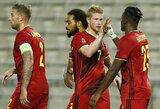 UEFA Tautų lyga: Belgija sutriuškino islandus, Prancūzija susitvarkė su kroatais