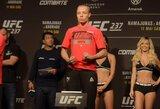 """""""UFC 237"""": 5 dalykai, kurie gali užtikrinti R.Namajunas pergalę"""