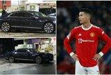 Krizė pakenkė ir C.Ronaldo: portugalo vairuotojas 7 valandas stovėjo degalinėje ir negavo kuro