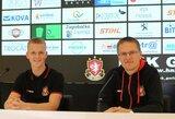 V.Dambrauskas ir P.Golubickas laimėjo Kroatijoje, G.Arlauskis praleido du įvarčius Saudo Arabijoje