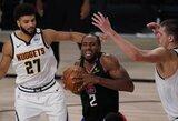 """Vakarų pusfinalio starte """"Clippers"""" nepaliko šansų """"Nuggets"""" klubui"""