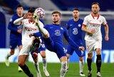 """Čempionų lyga: """"Chelsea"""" ir """"Sevilla"""" komandos išsiskyrė be įvarčių"""