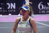 Į pergalių kelią grįžusi S.Kenin laimėjo WTA turnyro Lione finalą