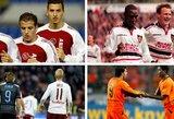 10 futbolo situacijų, kai komandos draugai vienas kitam viešai neslėpė neapykantos