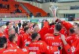 """""""Energijos"""" direktoriaus pareigas perima V.Mickevičius, komanda ruošiama kitam sezonui"""