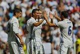 """C.Ronaldo sugrįžimas pažymėtas įvarčiu ir """"Real"""" pergale"""