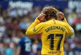"D.Deschampsas gina sunkiai įsibėgėjantį A.Griezmanną: ""Jam dar reikia laiko Barselonoje"""