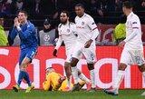 """Skaudus antausis Čempionų lygoje: """"Lyon"""" nukovė """"Juventus"""""""